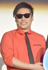 映画『ワイルドスピード SKY MISSION』日本語吹き替え版お披露目イベントに出席した8.6秒バズーカーのはまやねん (C)ORICON NewS inc.