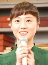 NHK高校講座『お悩み解決! ベーシック数学』の会見に出席した石丸佐知 (C)ORICON NewS inc.