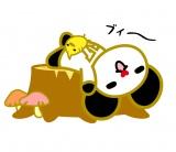 ゴーちゃん。のLINEクリエーターズスタンプ登場(C)'11 tv asahi・SANRIO  (C) '76,'15 SANRIO CO.,LTD. APPROVAL NO. S560022