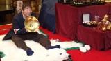 『有吉のバカだけど…ニュースはじめました』に出演する蛭子能収(C)テレビ東京