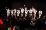 NMB48劇場で前座出演を果たした11人(C)AKS