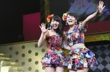 15期の大和田南那(左)と14期の小嶋真子がゆるゆるトーク