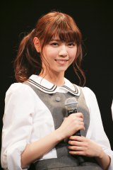 『NARUTO THE LIVE vol.0』に出演した乃木坂46の西野七瀬 Photo:hajime kamiiisaka