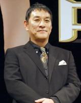 映画『寄生獣 完結編』完成披露舞台あいさつに出席したピエール瀧 (C)ORICON NewS inc.