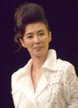 映画『龍三と七人の子分たち』完成披露舞台あいさつに出席した萬田久子 (C)ORICON NewS inc.