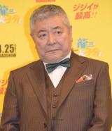 映画『龍三と七人の子分たち』完成披露舞台あいさつに出席した中尾彬 (C)ORICON NewS inc.