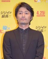 映画『龍三と七人の子分たち』完成披露舞台あいさつに出席した安田顕 (C)ORICON NewS inc.