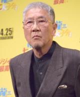 映画『龍三と七人の子分たち』完成披露舞台あいさつに出席した吉澤健 (C)ORICON NewS inc.