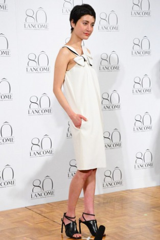 ランコム生誕80周年記念イベントに参加したモデルでタレントのマリエ(C)oricon ME inc.