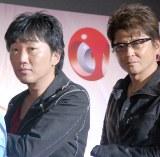 """映画『ワイルド・スピード SKY MISSION』IMAX 3D""""ワイルド・プレミア""""イベントに出席した(左から)小沢一敬、哀川翔(C)ORICON NewS inc."""