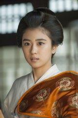 『花燃ゆ』高杉晋作の妻・雅役でNHK大河ドラマに初出演する黒島結菜(C)NHK