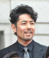映画『王妃の館』完成披露イベントに出席した山中崇史 (C)ORICON NewS inc.