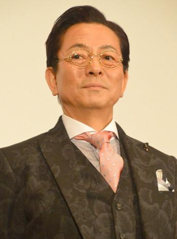初めての浅田作品に参加に「願いが叶いました」と感激した水谷豊= 映画『王妃の館』完成披露試写会(C)ORICON NewS inc.