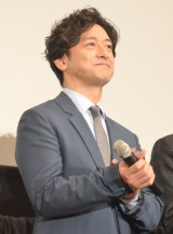 映画『王妃の館』完成披露試写会に出席した石丸幹二 (C)ORICON NewS inc.