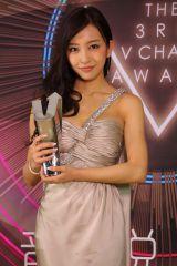 「2014年度日本地域突破アーティスト賞」を受賞した板野友美