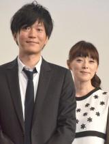 劇中でも夫婦役を演じた(左から)田辺誠一、大塚寧々 (C)ORICON NewS inc.