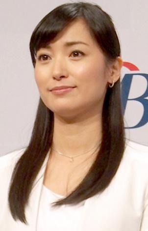 ツイッターで愛川さんへのメッセージを送った大江麻理子アナウンサー (C)ORICON NewS inc.