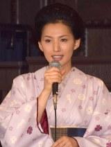 TBSテレビ60周年特別企画『天皇の料理番』の制作発表会見に出席した芦名星 (C)ORICON NewS inc.