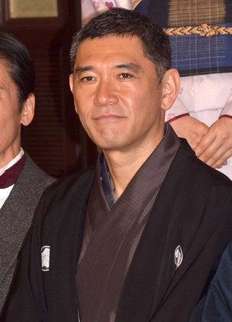 TBSテレビ60周年特別企画『天皇の料理番』の制作発表会見に出席した杉本哲太 (C)ORICON NewS inc.