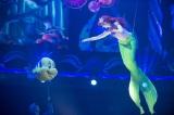 4月24日にリニューアルされる、東京ディズニーシーの『マーメイドラグーンシアター』が、ひと足早く報道陣にお披露目(C)Disney