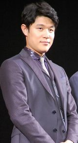 映画『予告犯』(6月6日公開)完成披露試写会舞台あいさつに出席した鈴木亮平 (C)ORICON NewS inc.