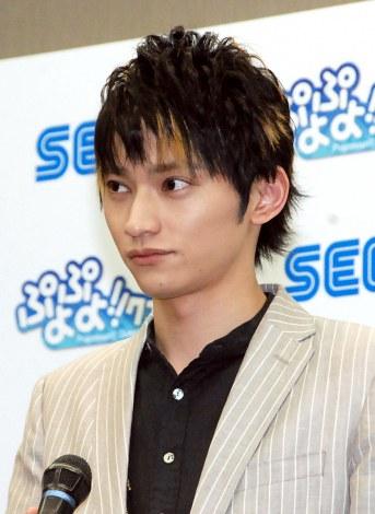 ゲームアプリ『ぷよぷよ!!クエスト』発表会に出席した日高光啓 (C)ORICON NewS inc.