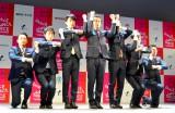 ダンスフェスティバル『Dance Dance Dance@YOKOHAMA2015』記者発表会に出席したWORLD-ORDER (C)ORICON NewS inc.