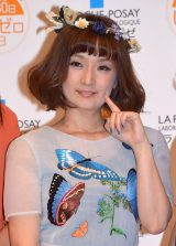 『ラ ロッシュ ポゼ しみゼロの日記念 Suhada Beauty Award 2015』の授賞式に出席した千秋 (C)ORICON NewS inc.
