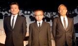 加瀬さんの魂の継承を誓った「ザ・ワイルドワンズ」のメンバー(左から)島英二、鳥塚しげき、植田芳暁(C)ORICON NewS inc.