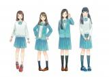 (左から)meri(メリ)、kana(カナ)、hima(ヒマ)、noa(ノア)