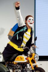 『Honda二輪車』新TVCM発表会に出席した樽美酒研二(C)ORICON NewS inc.