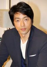 交際報道に言及した大沢たかお (C)ORICON NewS inc.