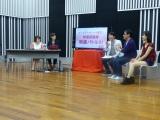 (左から)真鍋摩緒、吉田尚記、有村昆、コトブキツカサ、八雲ふみね