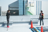 日本テレビ×Hulu共同制作ドラマ『THE LAST COP/ラストコップ』で民放ドラマ初出演を果たす山崎育三郎 (C)日本テレビ