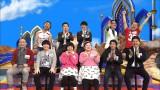 日本テレビ系単発番組『ほんとになった作り話』(深0:59)で、フットボールアワーの後藤輝基とピースの綾部祐二が若手芸人を容赦なく突っ込む (C)日本テレビ