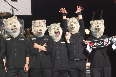 MAN WITH A MISSION (C)ORICON NewS inc.
