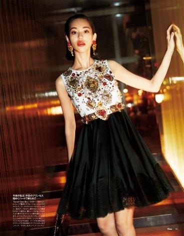 サムネイル 女性ファッション雑誌『25ans』の誌面を飾る水原希子