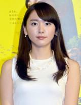 NHKスペシャル『生命大躍進』取材会に出席した新垣結衣 (C)ORICON NewS inc.