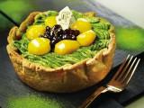 色鮮やかな季節限定タルト『抹茶と栗の和チーズタルト』
