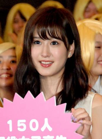 映画『ビリギャル』女子高校生限定イベントに出席した阿部菜渚美(C)ORICON NewS inc.