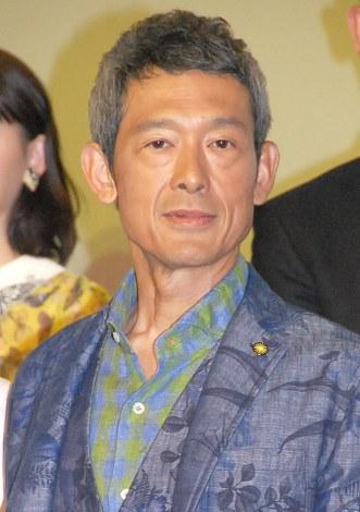 映画『Zアイランド』完成披露試写会に出席した鶴見辰吾 (C)ORICON NewS inc.