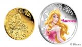 『眠れる森の美女』に登場するオーロラ姫がコインに  (c)Disney