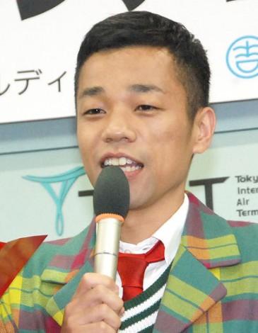 『住みますアジア芸人』出発式に出席したCOWCOW・多田健二 (C)ORICON NewS inc.