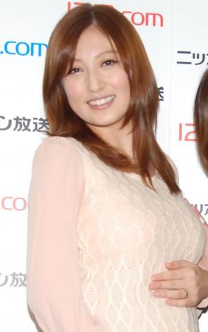 サムネイル ブログで第2子妊娠を発表した熊田曜子(写真は第1子妊娠時) (C)ORICON NewS inc.
