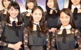 「X21」の(左から)小澤奈々花、吉本実憂、白鳥羽純(C)ORICON NewS inc.