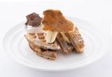 バナナクリームパイをイメージした『バナナクリームワッフル』(¥1450)