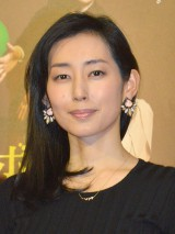 NHKプレミアムドラマ『ボクの妻と結婚してください。』初回試写後会見に出席した木村多江(C)ORICON NewS inc.