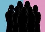 前回公開された、女性のような7人のシルエット