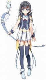 オリジナルアニメ映画『ガラスの花と壊す世界』のキャラクター・デュアル(C)Project D.backup