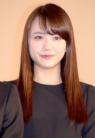 映画『ビリギャル』の初日舞台あいさつに出席した松井愛莉(C)ORICON NewS inc.
